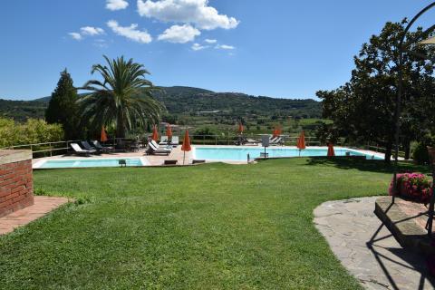 Kindvriendelijk residence met tuin en zwemba