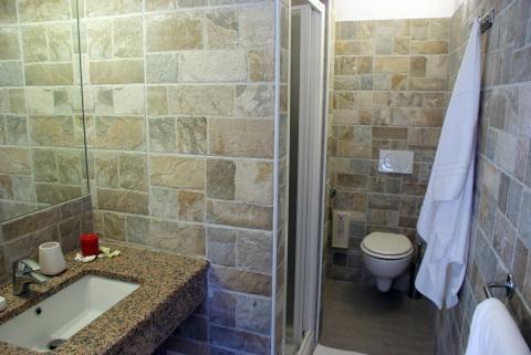 Voorbeeldfoto badkamer