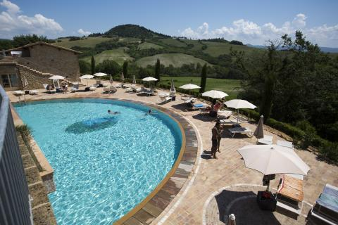 Luxe resort met zwembad Toscane