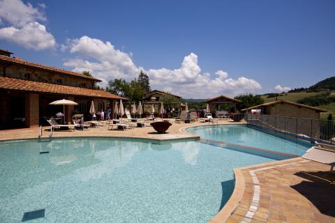 Luxe zwembad met panorama