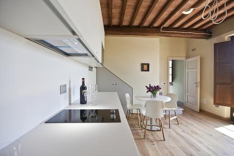 Modern appartement Toscane