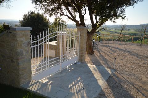 Vakantiehuis volledig omheind - Cortona, Toscane