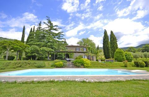 Villa Toscane bij Cortona