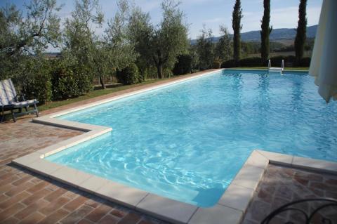 Familie villa met zwembad Siena