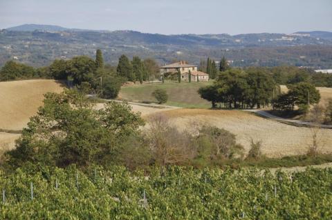 Panoramisch gelegen vakantiehuis