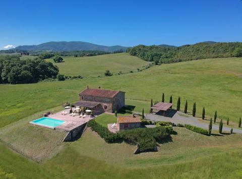 Villa mit Pool , Toskana