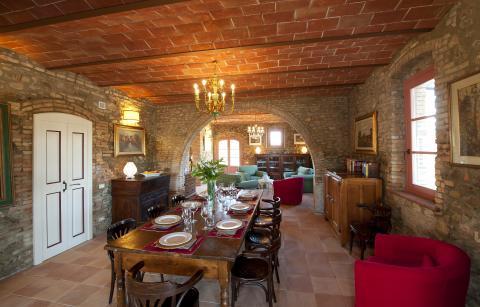 Luxe Toscaanse villa voor 12 personen