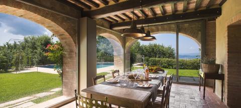 Ferienhaus Toskana mit Pool bei Arezzo | Tritt-toskana.de