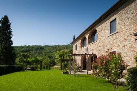 Luxus Ferienhaus Villa mit Pool Region Arezzo | Tritt-toskana.de