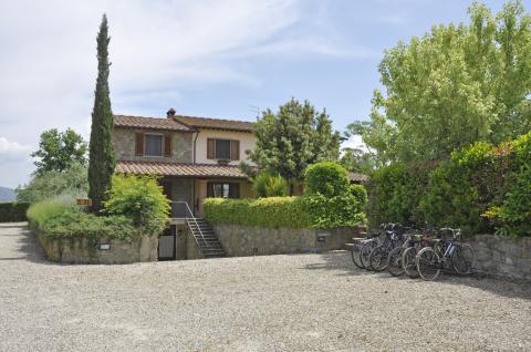 2 vakantiewoningen bij Arezzo