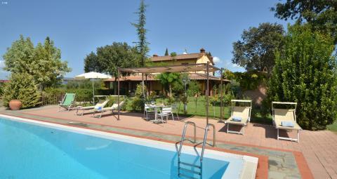 Vakantiehuis tussen Arezzo - Siena - Trasimenomeer | Tritt.nl