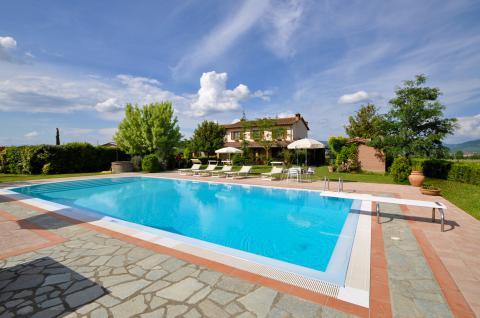 villa met prive zwembad Toscane