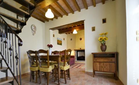 Vakantiehuis voor 7 prs. Cortona Toscane
