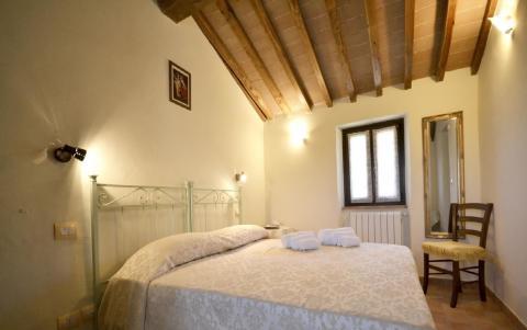 Vakantiehuis Arezzo, grens Toscane-Umbrie
