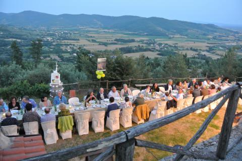Villa op groot wijnlandgoed in Arezzo
