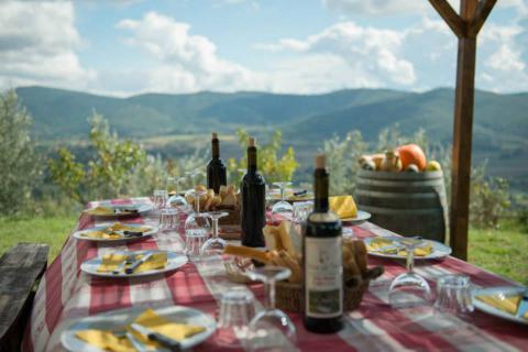 Toscane villa op wijnlandgoed in Cortona