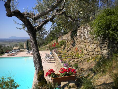Villa met privé zwembad Cortona
