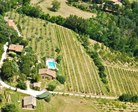 Agriturismo mit Ferienwohnungen, Pool