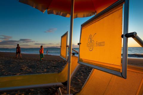Vakantiepark direct aan zee