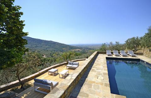 Luxe vakantiehuis voor 8 Toscane