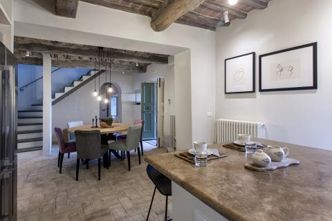 Moderne vakantiewoning Cortona
