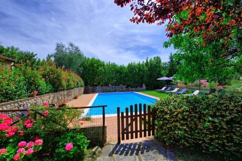 Vakantiehuis in Chianti streek Toscane
