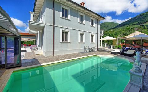 Villa Camaiore verwarmd zwembad