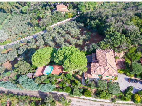Villa mit Pool auf Elba
