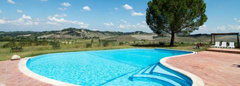 Agriturismo tussen Pisa en Volterra