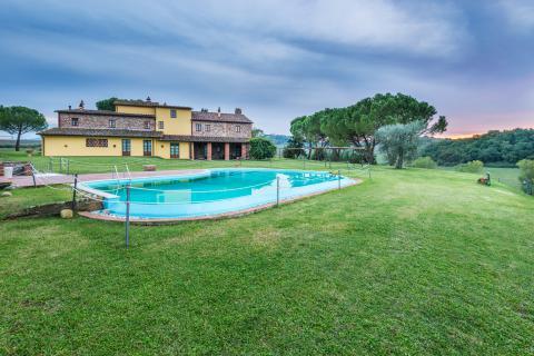 Vakantieappartementen Lajatico Toscane