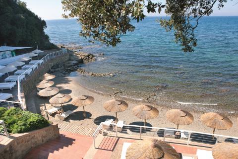 Luxe vakantie appartementen bij een jachthaven zuid Toscane  | Tritt.nl