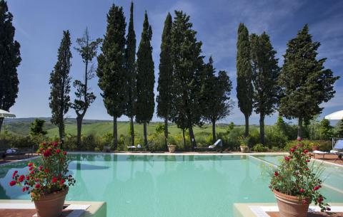 Luxe villa Chianti Toscane