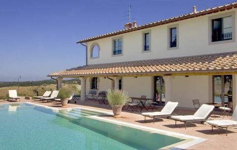 Luxe villa Toscane Chianti