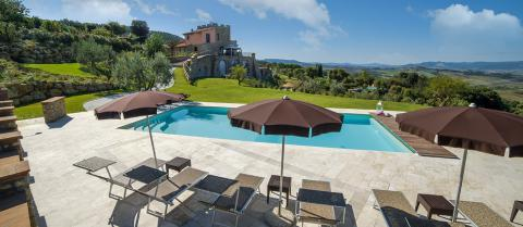 Luxe villa Montaione Toscane