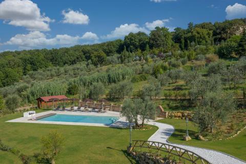 Luxe villa met zwembad Montaione Toscane   Tritt.nl