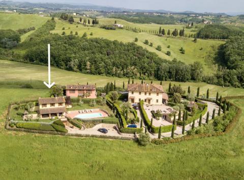 Vrijstaand vakantiehuis Florence Toscane