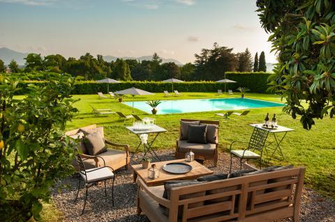 Ferienwohnung in Luxus-Villa mit Pool, Lucca
