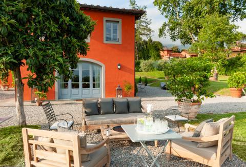 Villa mit 5 Ferienwohnungen und Pool, Toskana