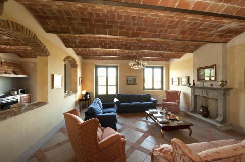 Luxe vakantiehuis met zwembad Toscane