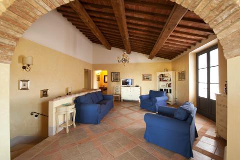 Vakantiehuis met 2 appartementen voor 21 personen