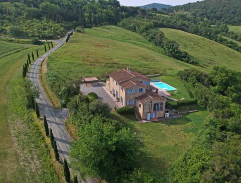 Luxe villa met zwembad Toscane