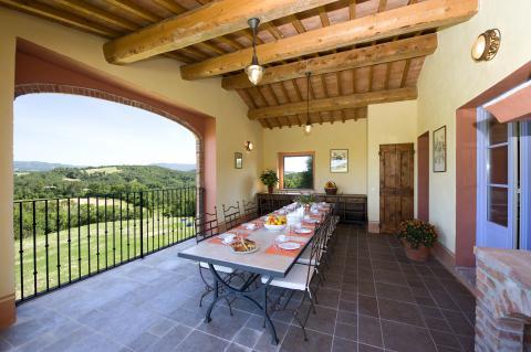 Vakantievilla voor 12 personen Toscane