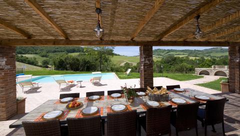 Vakantiewoning voor 12 personen Toscane