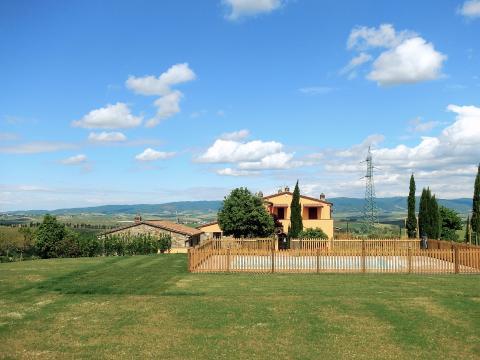 Agriturismo bij Rosignano in Toscane