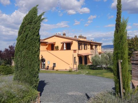 Agriturismo kleinschalig in Toscane