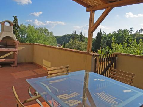 Ferienwohnung mit Pool - Toskana