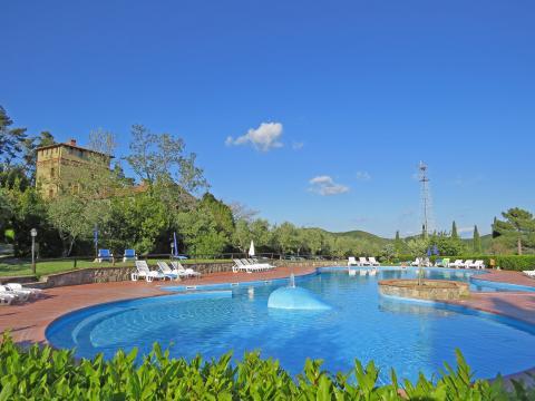 Kindvriendelijke vakantiewoning met zwembad
