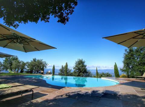 Agriturismo Arezzo met zwembad