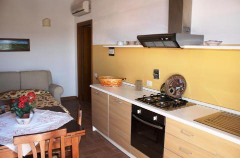 Keuken appartement Cedro