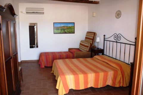Slaapkamer appartement Oleandro
